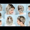 Hair-Styles-2017-10-EASY-BRAIDS-FOR-SHORT-HAIR-TUTORIAL-Milabu-1