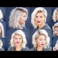 Hair-Styles-2017-HOW-TO-10-Easy-Short-HairStyles-With-Straightener-Tutorial-Milabu-1