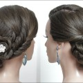 Hairstyles-for-long-medium-hair-tutorial.-Bridal-updo