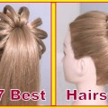 High-ponytail-hairstyle-With-Puff-for-long-hairBraided-Ponytail-Tutorial-For-Wedding-Parties