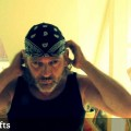 How-to-tie-a-Bandana-Mens-hairstyle-Mens-long-hair-style