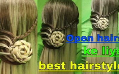 Open-hairs-hairstyle-for-long-hairs-for-small-functions
