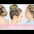 Short-Hair-2017-7-Easy-Holiday-Hairstyles-Tutorial