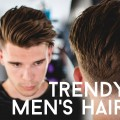 Trendy-Mens-Haircut-Style-2017-Thick-Straight-Hair