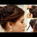 Wedding-Special-Bridal-Bun-hair-style-for-long-hair-Easy-Hair-style-for-Ladies-2017