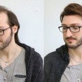 Wild-Flexible-Hairstyle-for-Men-Modern-Medium-long-Haircut-mit-Haarsystem