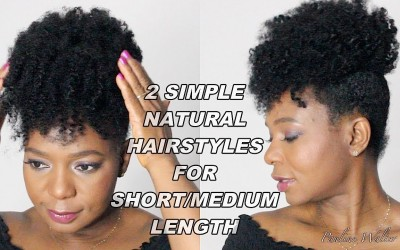 2-Simple-Natural-Hairstyles-For-ShortMedium-Length-Pauline-Walter