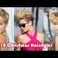 2018-Short-Haircuts-and-Hairstyles-for-Christmas-Prom-BobPixieShort-Hair