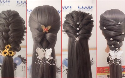 4-Easy-Hairstyles-for-Long-Hair-Beautiful-Hairstyles-Compilation-2017