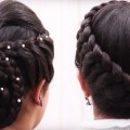 5-Easy-Best-Hairstyle-for-Long-Hair-Bun-Hairstyle-Puff-Hairstyle-Ladies-Hairstyles-Tutorials