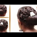 Beautiful-Curly-Hairstyles-for-Wedding-or-Function-Bridal-hairstyle-for-long-hair-tutorial2017.