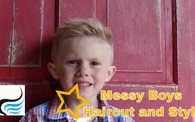 Boys-Medium-To-Short-Haircut-and-Hairstyle-Messy-Style-Tutorial