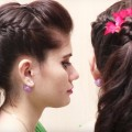 Bridal-Hairstyle-for-Long-Medium-Hair-Tutorial-Best-Hairstyle-videos