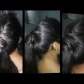 College-girls-hair-style-for-long-hairs-side-twisting-ponytail