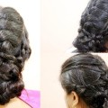 Criss-Cross-Braid-with-Low-Big-Bun-For-long-Hairs-New-Hair-Style-2017