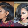 Cute-Short-Bob-Hairstyles-and-Haircuts-for-Black-Women-ideas-2017