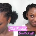 Easy-Flat-Twisted-DOUBLE-PUFFS-LAID-EDGES-Hairstyle-Protective-Style-On-Short-Natural-Hair