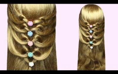 Easy-hairstyle-for-medium-and-long-hair-tutorial