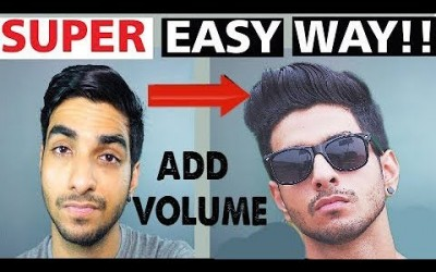 HOW-to-ADD-VOLUME-to-your-hair-MENSBOYS-hairstyle-Mens-hair