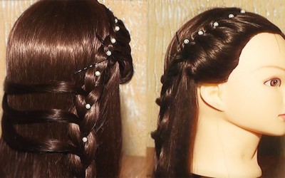 Hairstyle-for-girls-classic-french-hairstyle-for-long-and-medium-hair