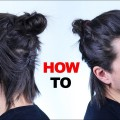 Half-Way-Man-Bun-Tutorial-Mens-Hair-Styles