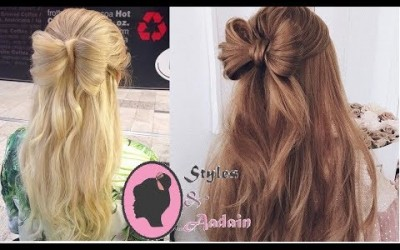 Half-up-Hair-Bow-hairstylesBow-hairstyle-step-by-step-for-long-hair-for-Braids