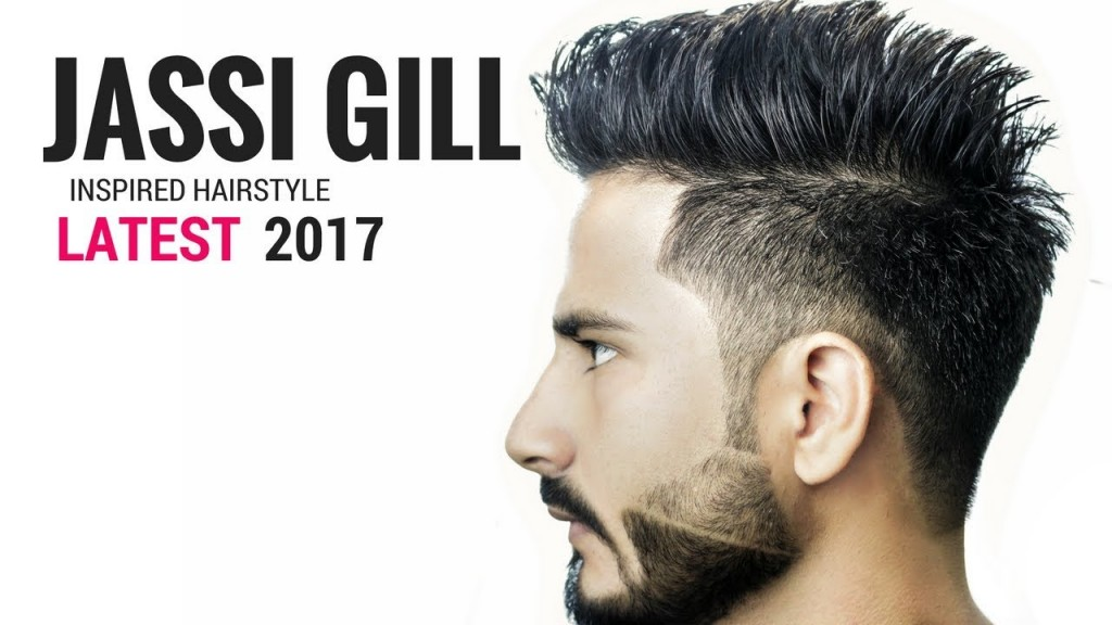 Jassi Gill Hairstyle Inspired Haircut 2017 ⭐️ Indian