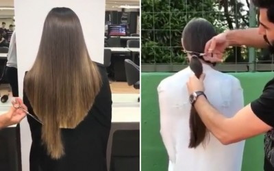 LONG-HAIR-CUT-Professional-Hairstyles-Compilation