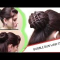 Latest-Easy-Bubble-Bun-Hairstyles-for-Medium-Long-Hairs-Best-Hair-style-videos-2017-.