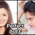 Perfect-broad-PUFF-for-partyIndian-festive-hairstylesAlia-bhatt-puff-hairstyle