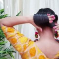 Quick-Indian-Bun-Hairstyle-for-navratri-Party-Hairstyles-for-mediumlong-hair-Indian-hairstyles