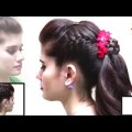 Romantic-Bridal-Hairstyle-for-Long-Medium-Hair-Tutorial-Best-Hairstyle-videos-2017.