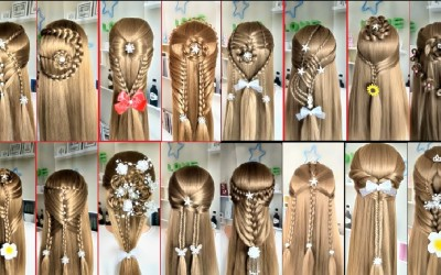 Top-20-Easy-Hairstyles-for-Long-Hair-Beautiful-Hairstyles-Compilation-2017
