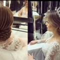 wedding-prom-hairstyles-for-medium-long-hair-Updo-tutorial-bridal-hairstyles-2017