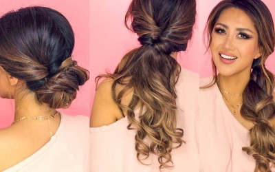 1-MIN-LAZY-HAIRSTYLES-for-WORK-EASY-EVERYDAY-UPDOS-for-Long-Medium-HAIR