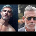 15-Glorious-Shortne-Hairstyles-for-Men-Over-40-Haircuts-With-Grey-Hair-Models-2018