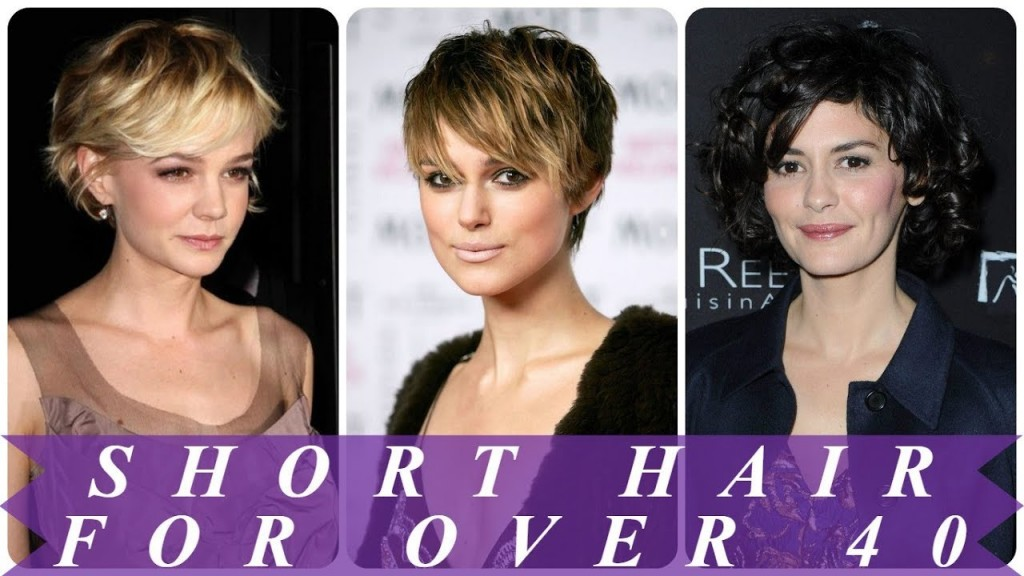 18 Perfect Ideas For Short Hairstyles For 40 Year Old Woman 2018