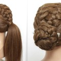 2-Easy-Hairstyles-For-Long-Hair-Tutorial.-Braided-Ponytail-And-Updo