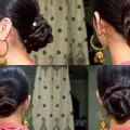 4-EASY-PARTY-BUN-HAIRSTYLES-UNDER-A-MINUTE-FOR-MEDIUMLONG-HAIR