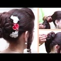 Bridal-Hairstyles-for-Long-Hair-Tutorial-Easy-Hairstyle-videos-YouTube-2017.