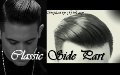 CLASSIC-SIDE-PART-Inspired-by-G-eazy-Mens-hairstyle-2017