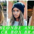 Chic-blonde-box-braids-hairstyles-and-haircuts-for-black-women