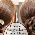 Cute-Hair-BunsRegular-BunNew-HairstylesBridal-Hairstyles