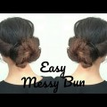 EASY-BUN-HAIRSTYLE-you-need-to-TRY-Hairstyle-for-long-to-medim-hair-SIMPLE-HAIRSTYLE