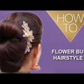 Easy-Flower-Bun-Hairstyle-for-Medium-Long-Hair-Ladies-Hairstyle-Tutorials-2017-YouTube-360p