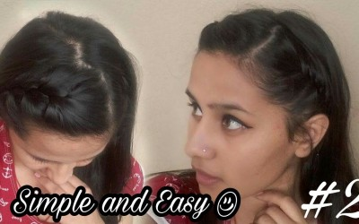 Easy-Hair-Style-for-Long-Hair-Puff-Hair-Style-Hair-Style-Video-for-girls-2