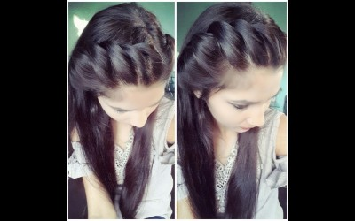 Easy-Simple-side-Hairstyle-For-long-Medium-Short-HairBack-to-school-Hairstyle