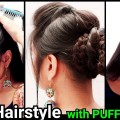 Ethnic-Bun-with-PUFF-HairstyleIndian-Festive-hairstylesPartywedding-hairstyles-for-long-hair