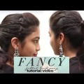 Fancy-Fishtail-Braid-Ponytail-Hairstyles-for-Medium-Hair-Easy-Ponytail-Hairstyles-YouTube