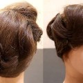 Folded-Curved-BunNew-HairstylesBridal-HairstylesBlack-Hairstyles